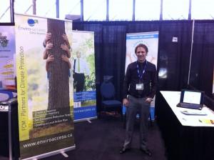Dominic Beaulieu, ing., GHG-V, GHG-IQ, à la Convention 2013 de l'AUMA en Alberta.